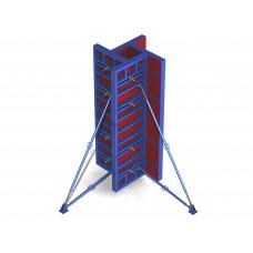 Опалубка для монтажа прямоугольных колонн Б/У с переменной шириной В=200-600мм