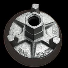 Гайка для стяжного винта оцинкованная D=90мм пр-во Россия (новая), руб/шт