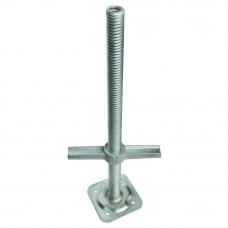 Опора-домкрат Н=500мм Cup-Lock, оцинкованная (новая), руб/шт